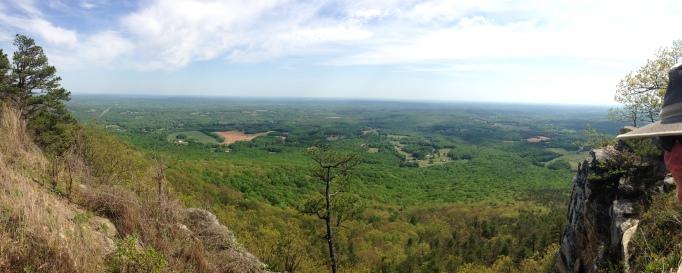 Summit of Mount Pilot, NC