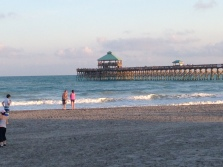 The pier at Folly Beach