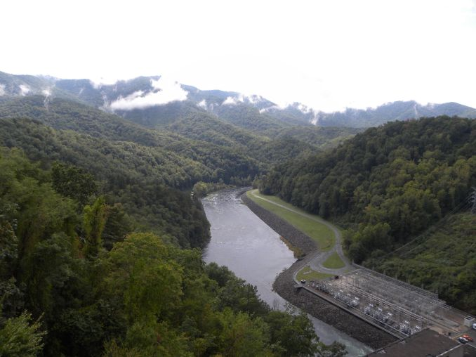 View near Fontana Dam, NC
