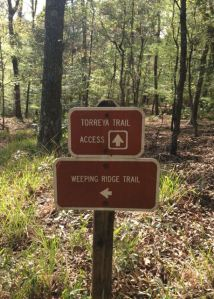 All the trails are well marked and maintained.
