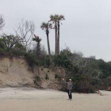 20 foot sheer face dunes