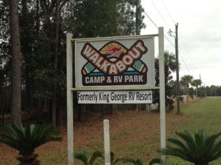 Campground logo, owned by an Australian!