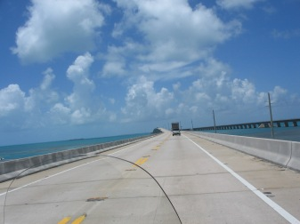 It was a 6 hour ride. The best part was going over all of the keys on bridges and being surrounded by the blue skys and gorgeous water!