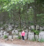 Very interesting rocks and trees!