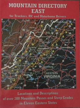 Mountain Directory East - for Truckers, RV and Motorhome Drivers.