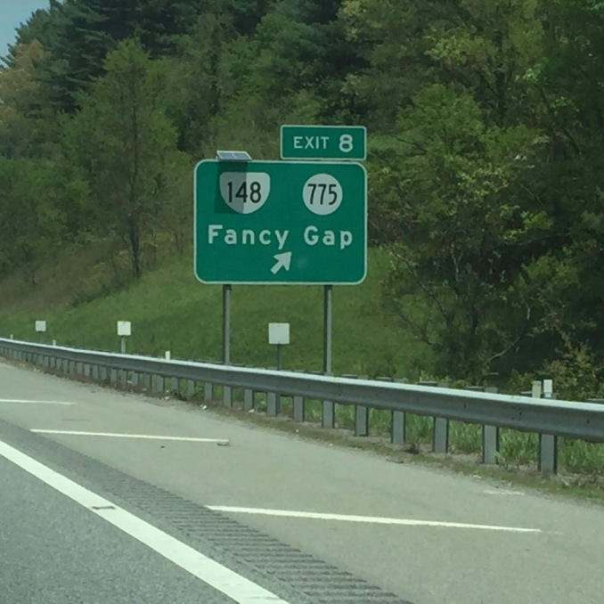 This wasn't the easiest place to find. It's this exit