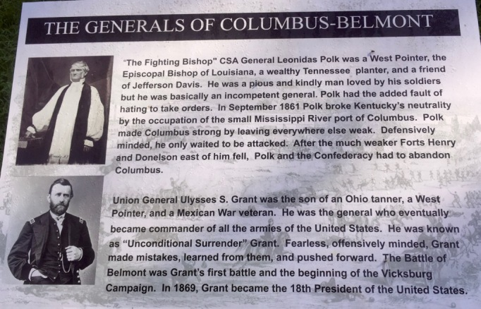The Generals of the Columbus-Belmont Civil War Battle