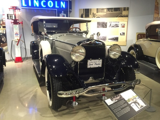 """""""This top-of-the-line Lincoln was a rare favorite of exclusive buyers with luxury appointments for up to 7 passengers. It was so well built, and its stature so large, that it cost 10 times more than a Model A. The Lincoln was well known for being fast!...."""""""