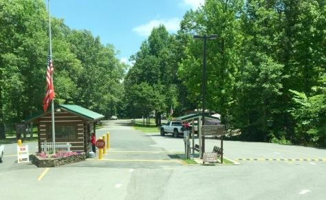 It was so easy to find, just put 1010 Canal Campground Rd., Grand Rivers, KY in your GPS.