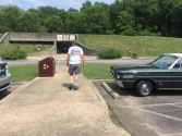 There was a Classic Car Club visiting the 1850 Homeplace at the same time.