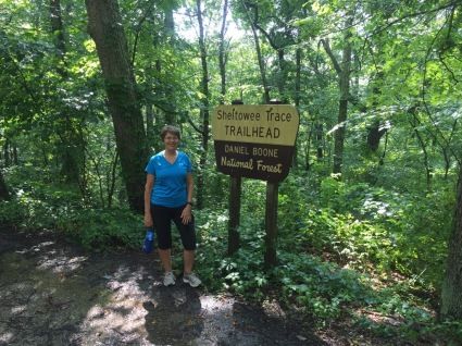 Sheltowee Trace Trail Head