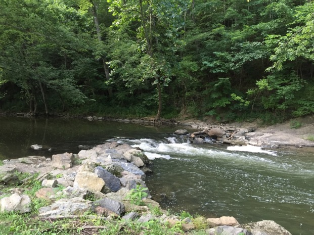 A beautiful creek runs around part of the park. Canoeing and Kayaking is available.