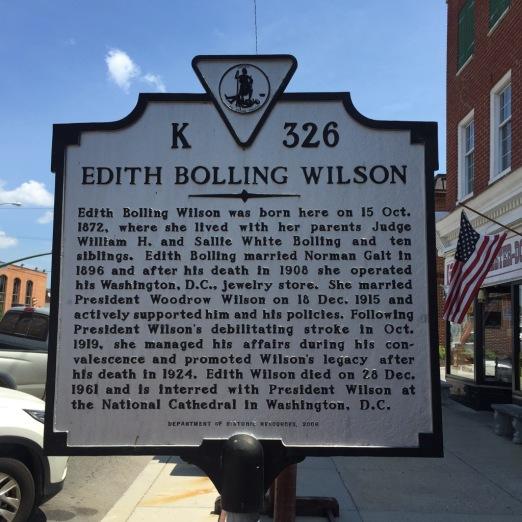 Edith Bolling Wilson