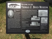 The cost was minimal to tour the museum and the Rock House