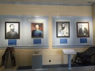 Inside the Boyd Museum, nice memorial to the Civil War.