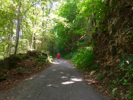 Isn't it a beautiful trail, with a gentle slope.