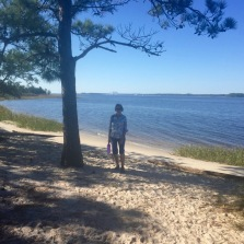 It meandered to the Cape Fear River