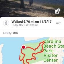We had a great hike!