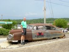 Bill and his classic cars!