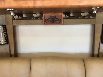 Valance after. Much brighter and fresh looking.
